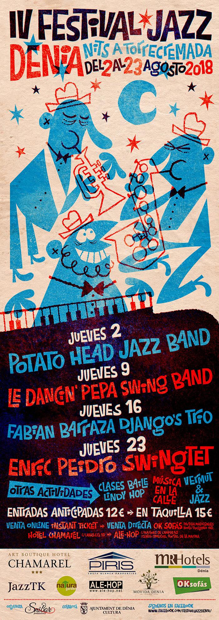 IV Festival Jazz Dénia poster