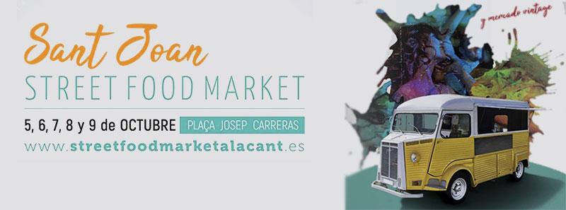 Street Food Market de San Juan de Alicante