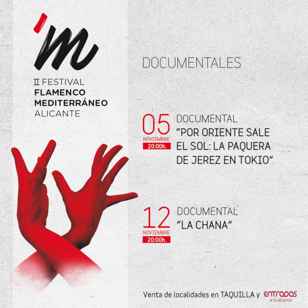 II Festival de Flamenco Mediterráneo: documentales
