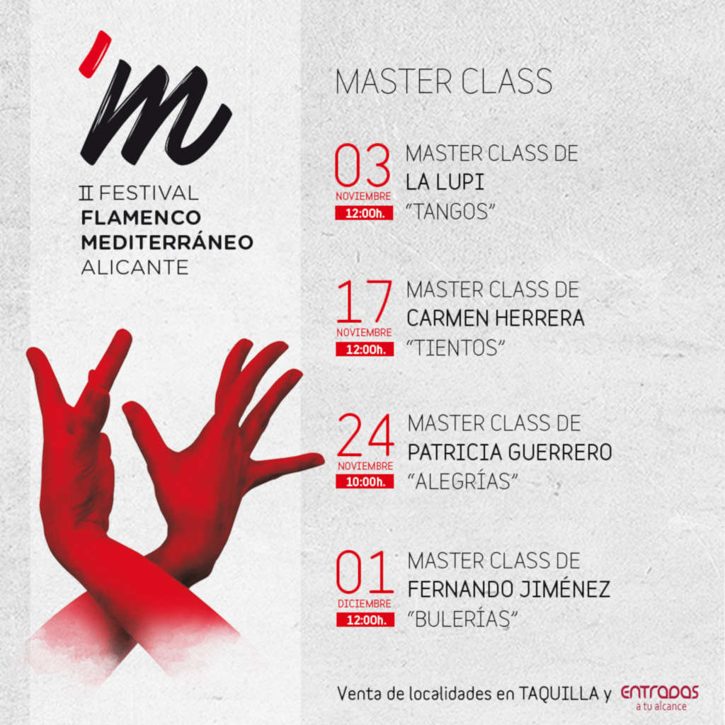 II Festival de Flamenco Mediterráneo: master class