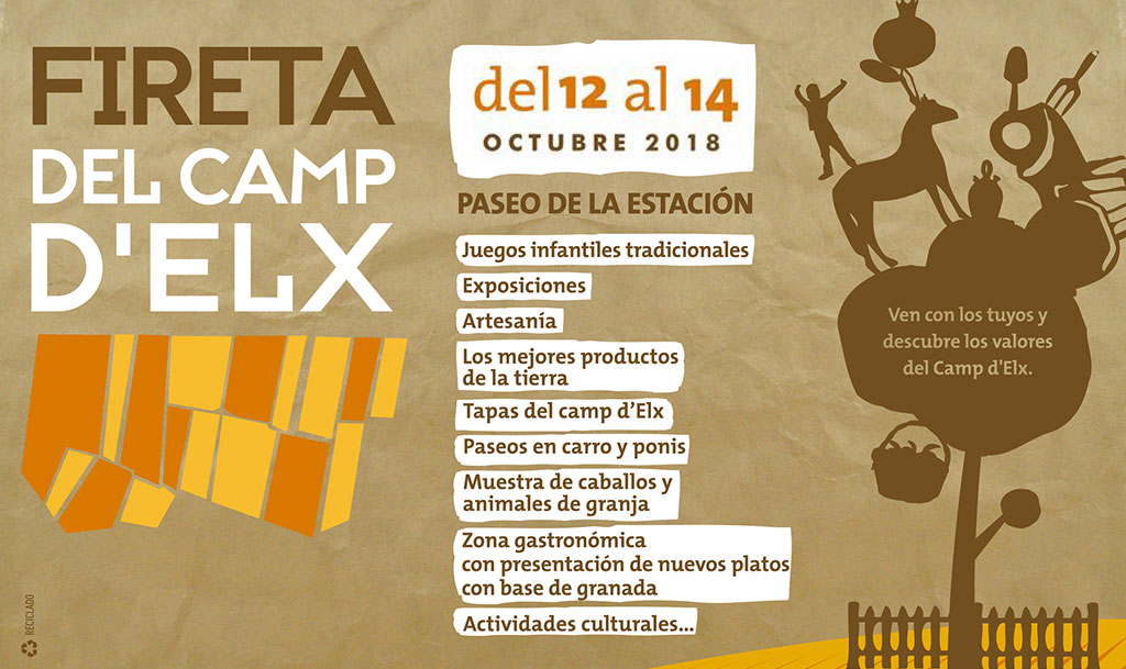 La Fireta del Camp d'Elx 2018