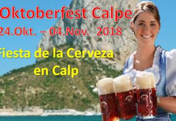Oktoberfest Calpe 2018