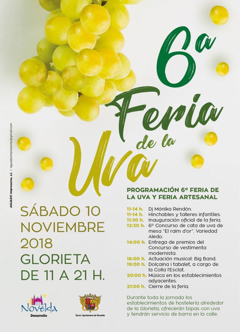 Feria de la Uva de Novelda: programa
