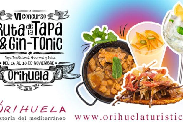 Ruta de la Tapa y el Gin-Tonic de Orihuela