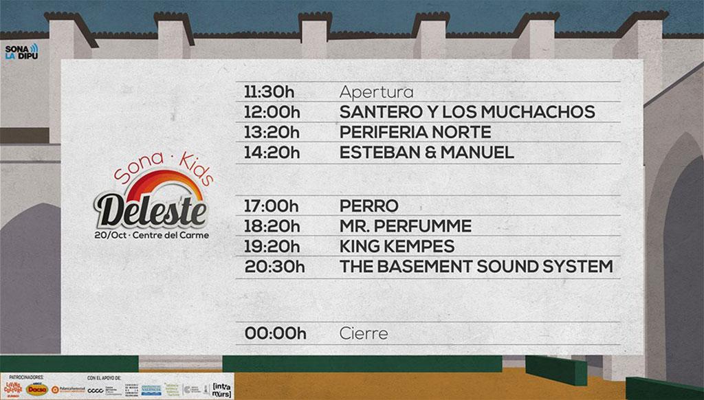 Sona Deleste 2018: programme