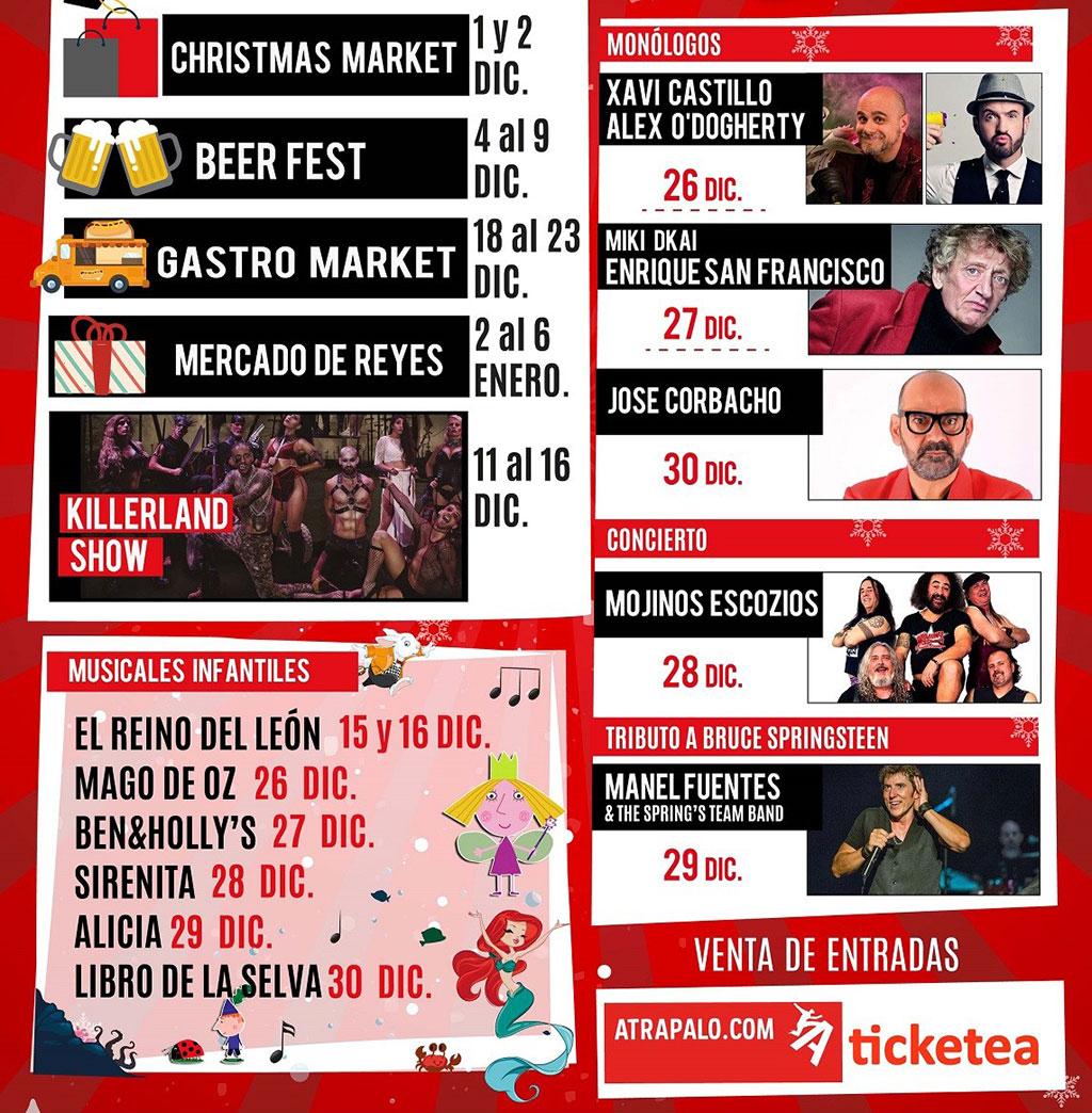 La Nadalenca: Программа