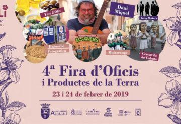 Feria de Oficios y Productos de la Tierra en Alcalalí