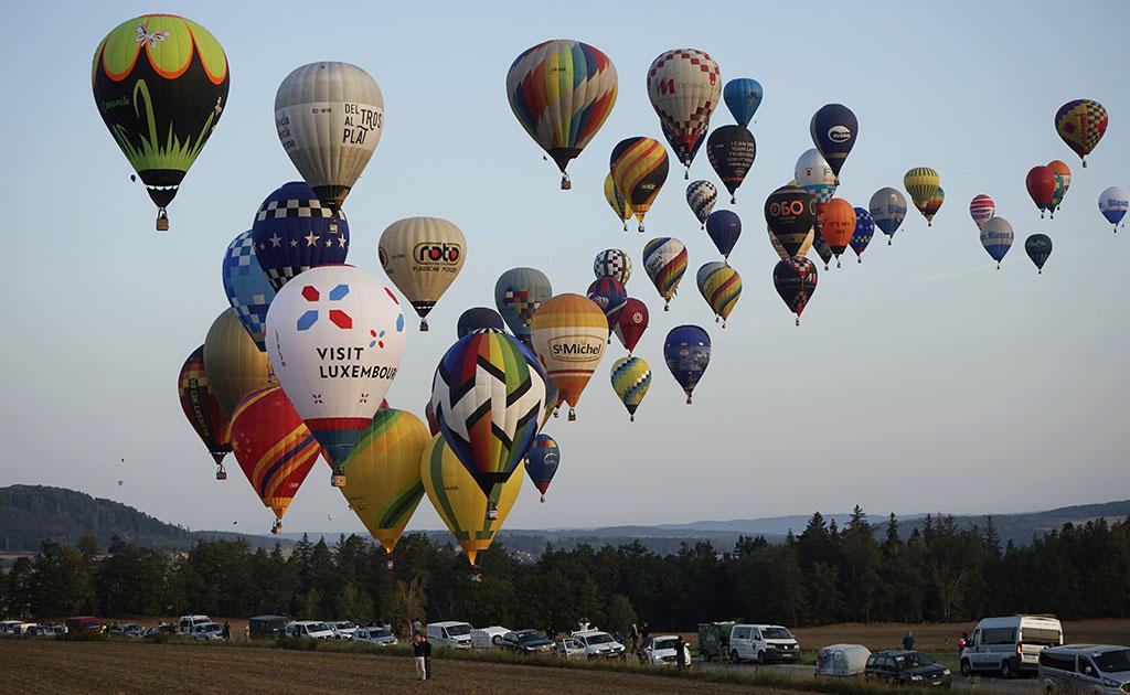 Fiesta Valenciana del vuelo aerostático