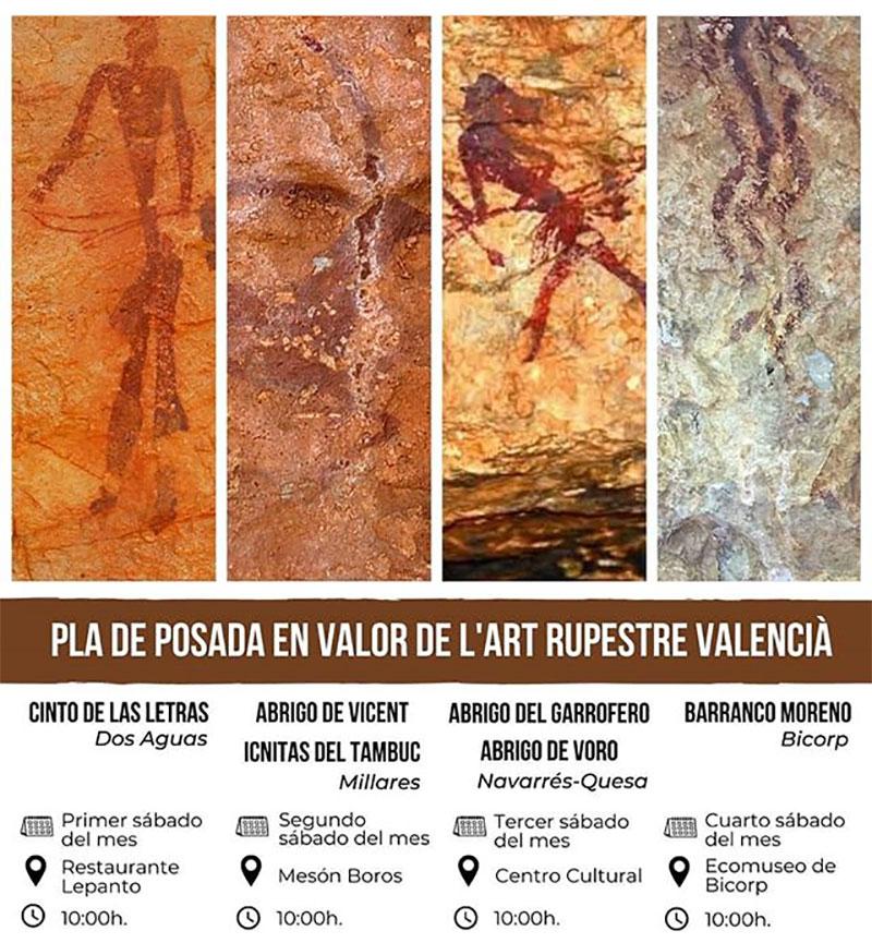 Visits Macizo de Caroig 2020