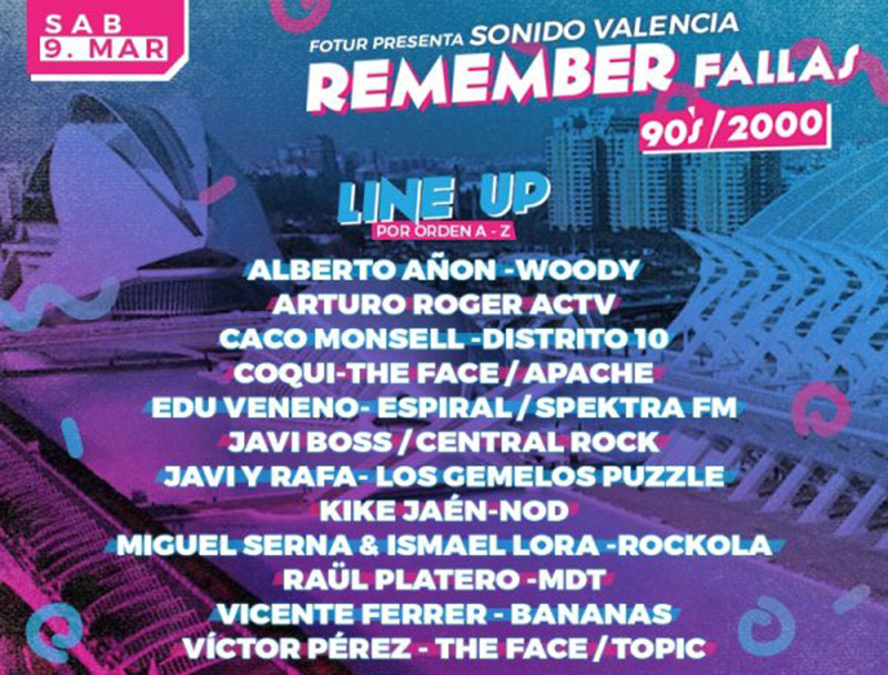 Festival Remember Fallas 2019: programme