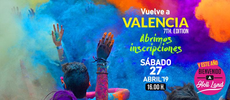 Holi Life Valencia 2019