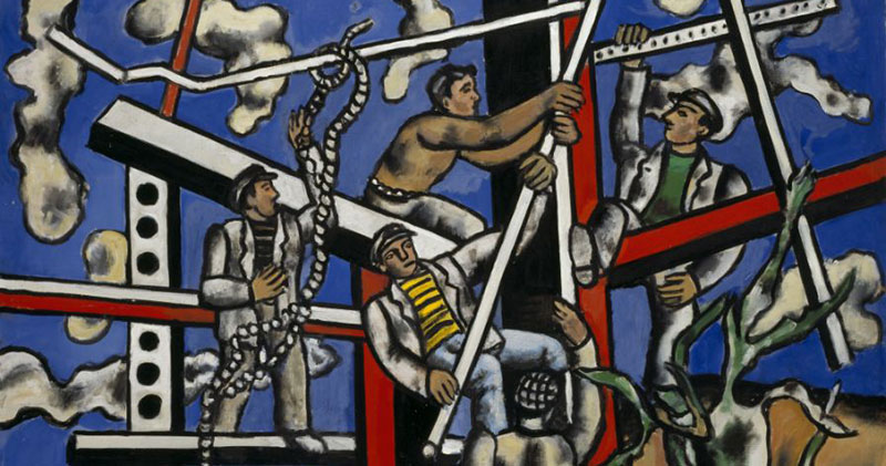 Fernand Léger y la vida moderna