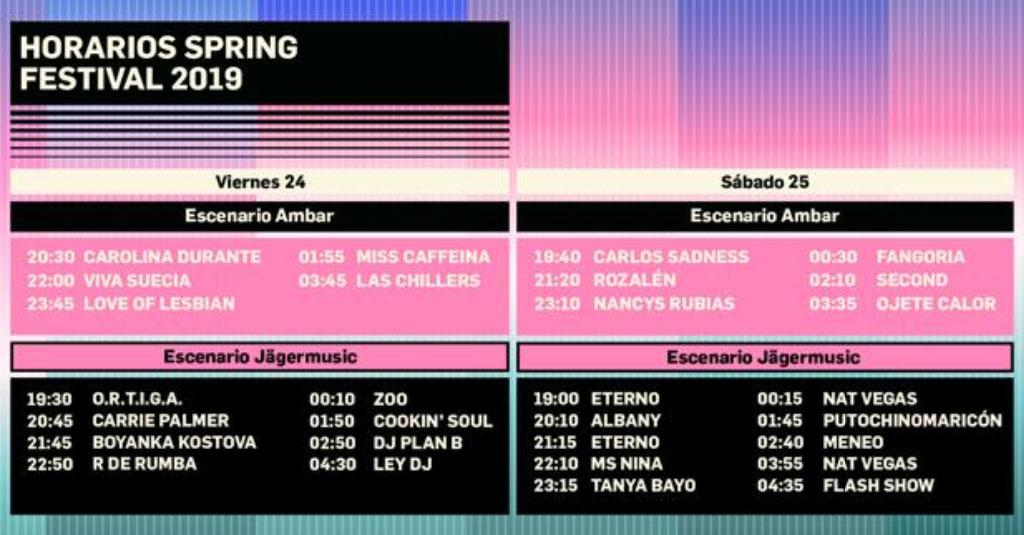 Spring Festival 2019: programme