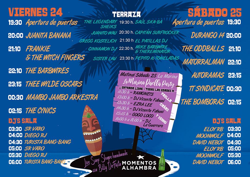Surforama Fest 2019: programme