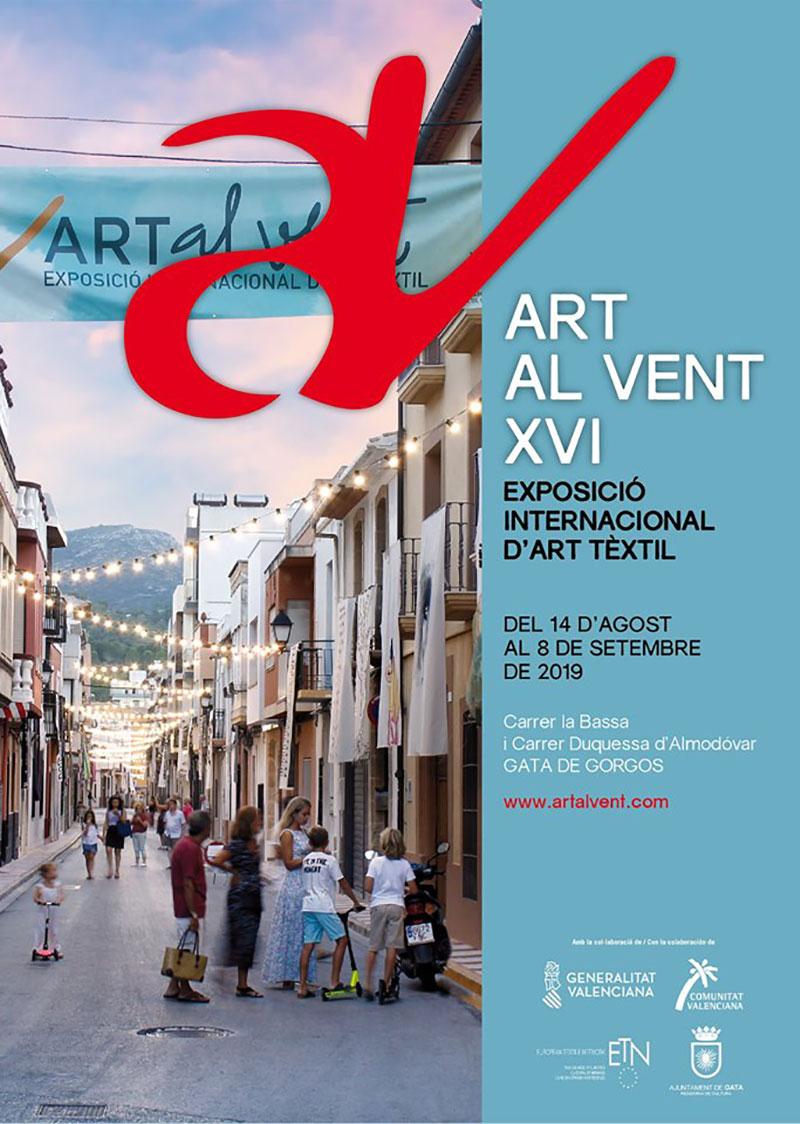 Art al vent 2019: cartel