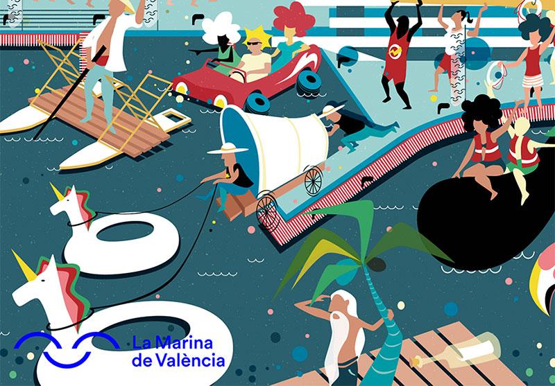 Barcos locos 2019: cartel