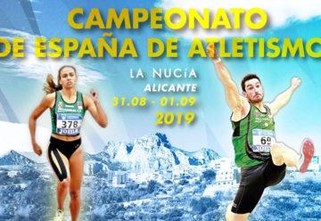 Campeonato de España de Atletismo al Aire libre 2019
