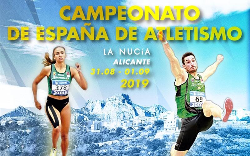 Campeonato de España de Atletismo'Campeonato de España de Atletismo al Aire libre 2019' (Outdoor Athletics Championship 2019) al Aire libre