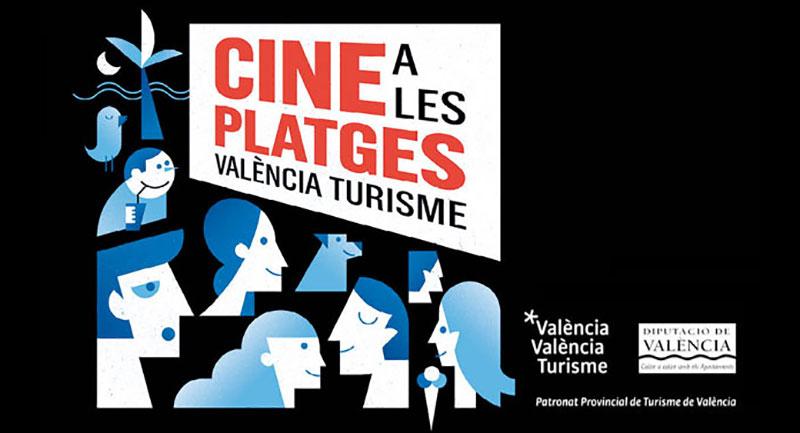 Cine en las playas de Valencia 2019