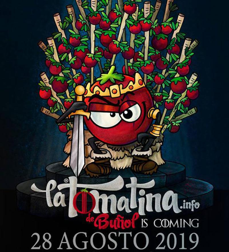 Tomatina 2019: cartel