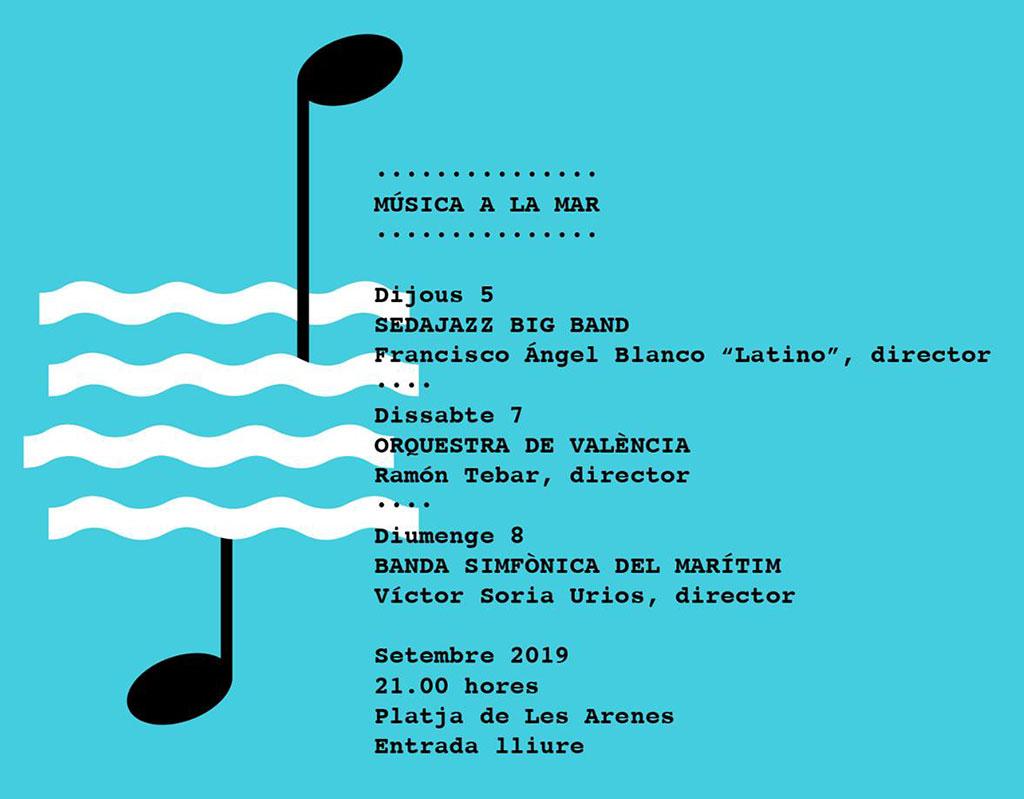Música a la mar 2019: Программа