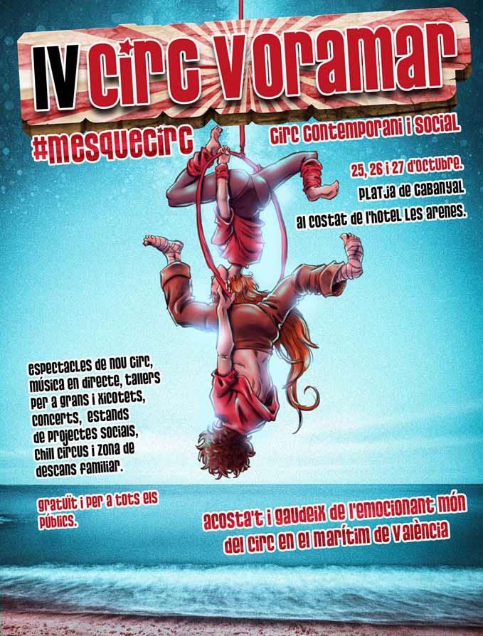 Festival de Circo Voramar 2019: cartel
