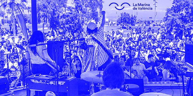 Fiesta Aniversario de La Marina de Valencia 2019