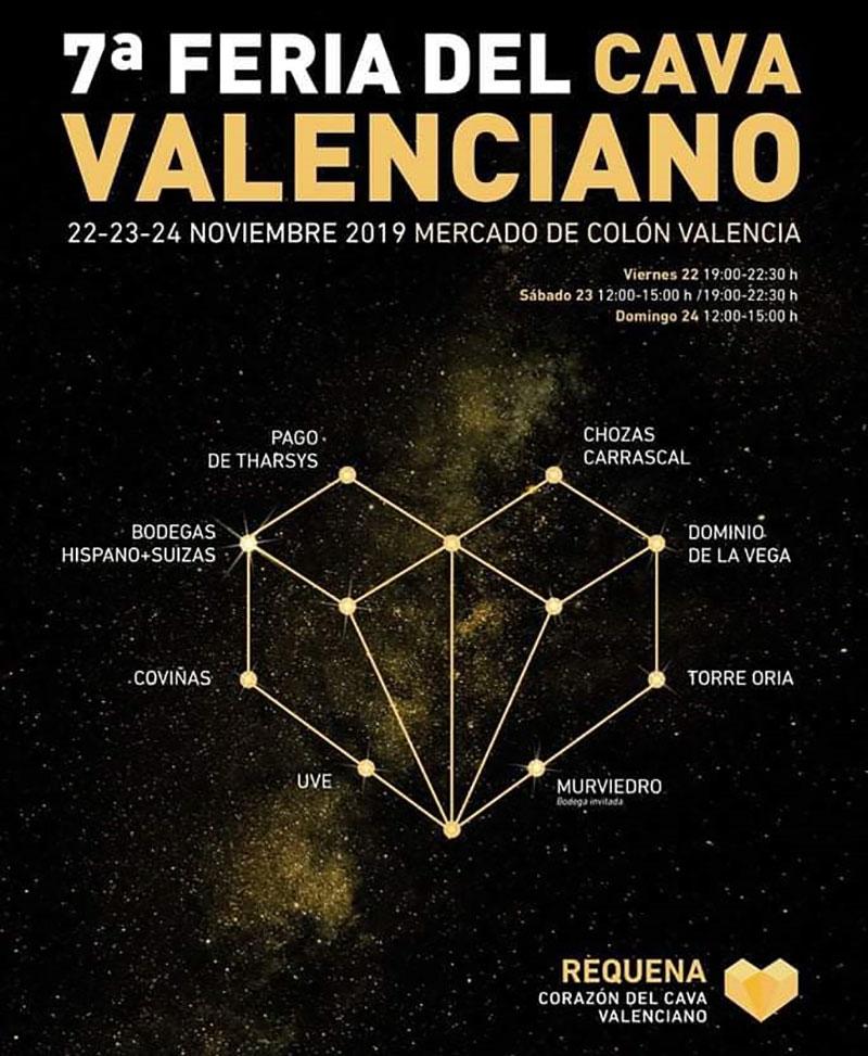 Feria del Cava Valenciano 2019: cartel