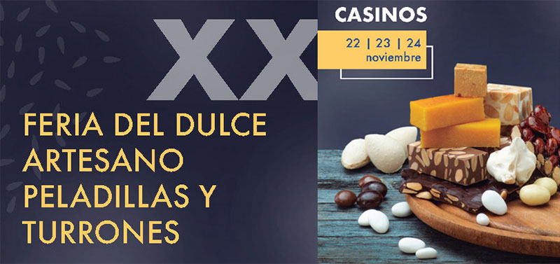 Feria del dulce artesano de Casinos 2019