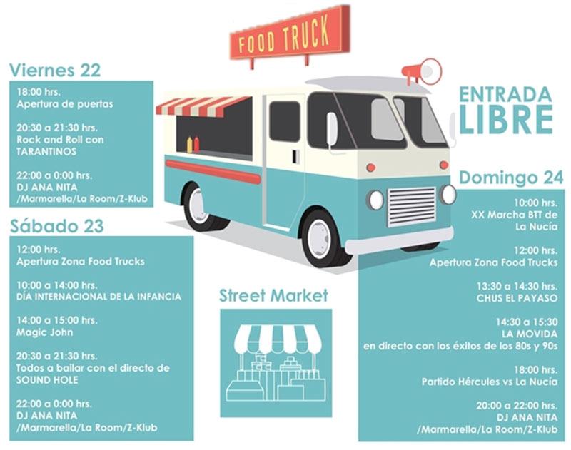La Nucía Food Truck Festival 2019: programa