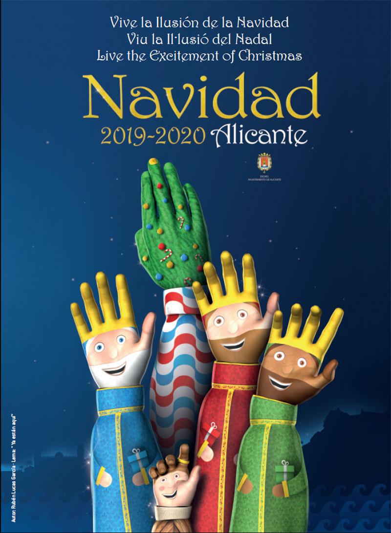 Navidades en Alicante 2019-2020: cartel