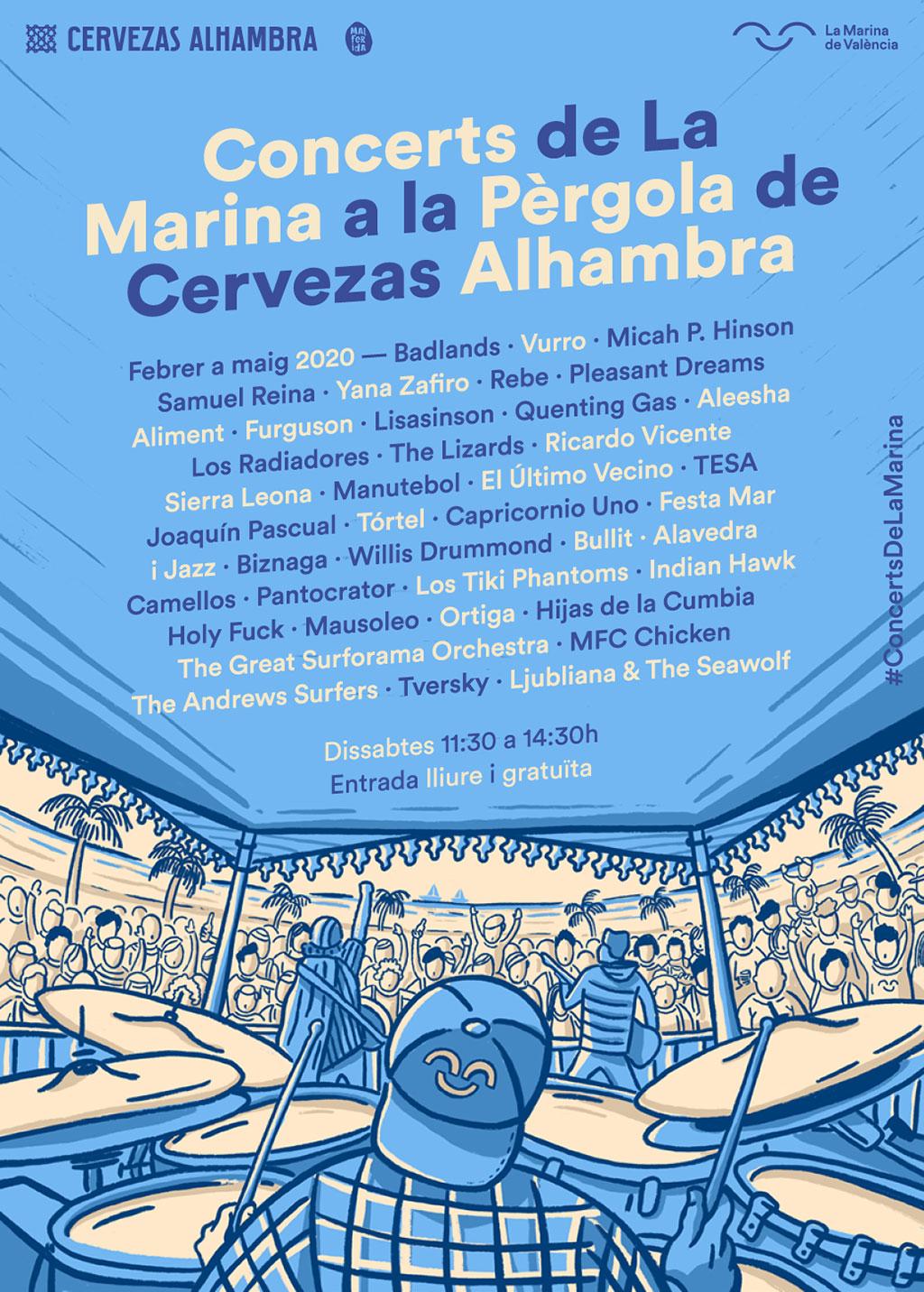 Conciertos La Pérgola 2020: Программа