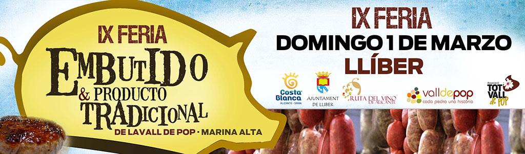 Feria del Embutido La Vall de Pop 2020