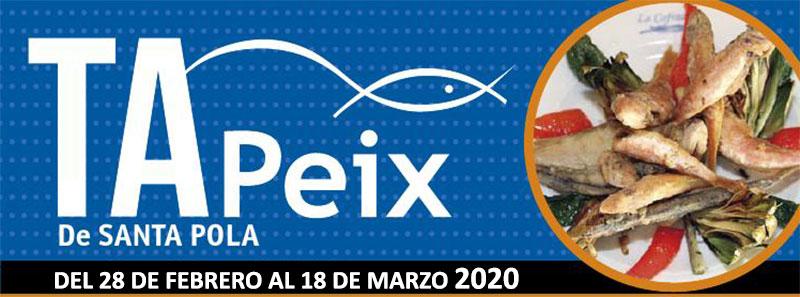 Tapeix Santa Pola 2020