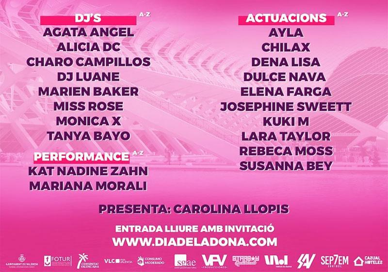 Dia de la Dona Festival 2020: programme