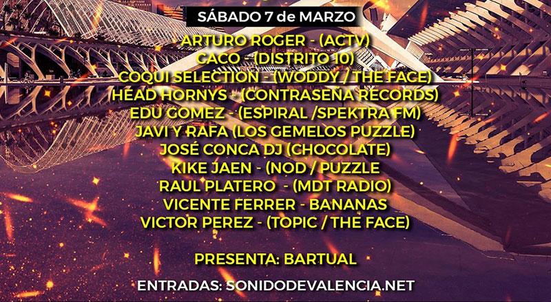Festival Sonido de Valencia 2020: Программа