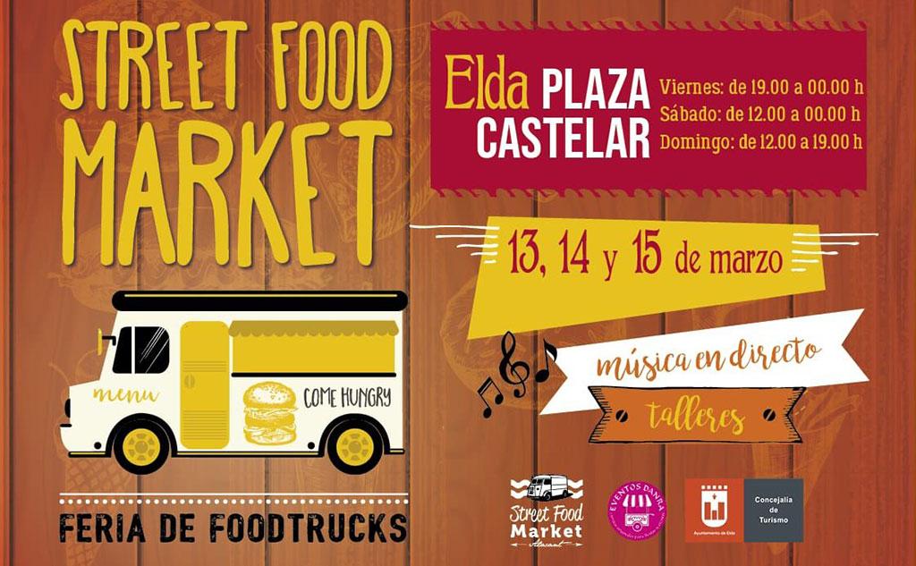 Elda Street Food Market 2020