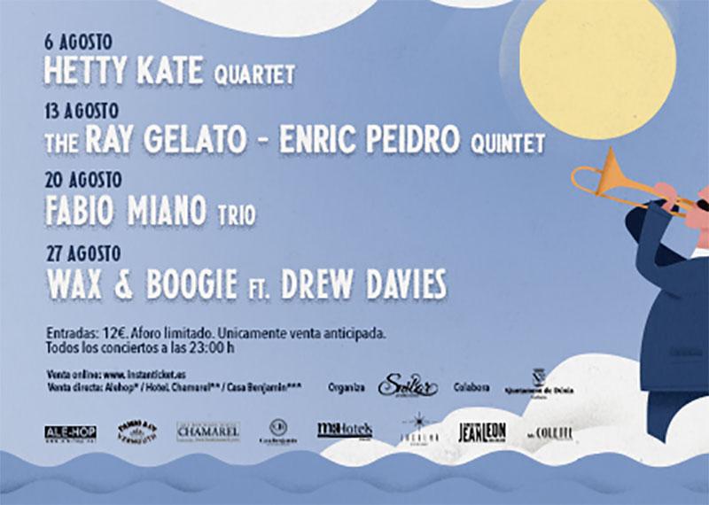 Festival jazz Denia 2020: Программа