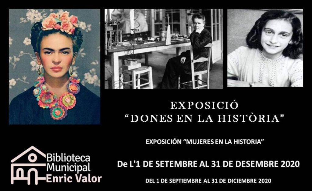 Exposición Mujeres en la Historia
