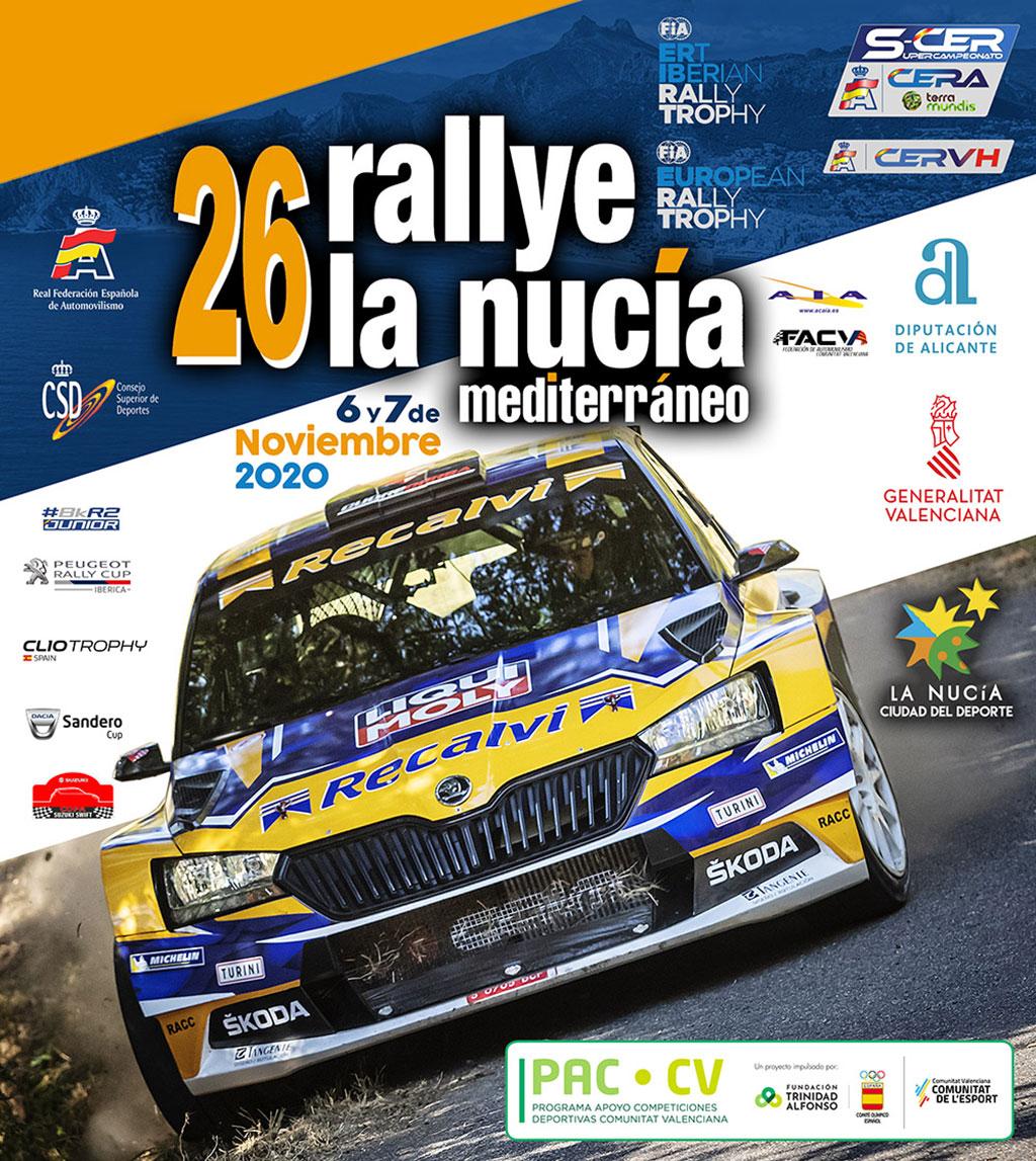 Rally Mediterráneo - La Nucía: cartel