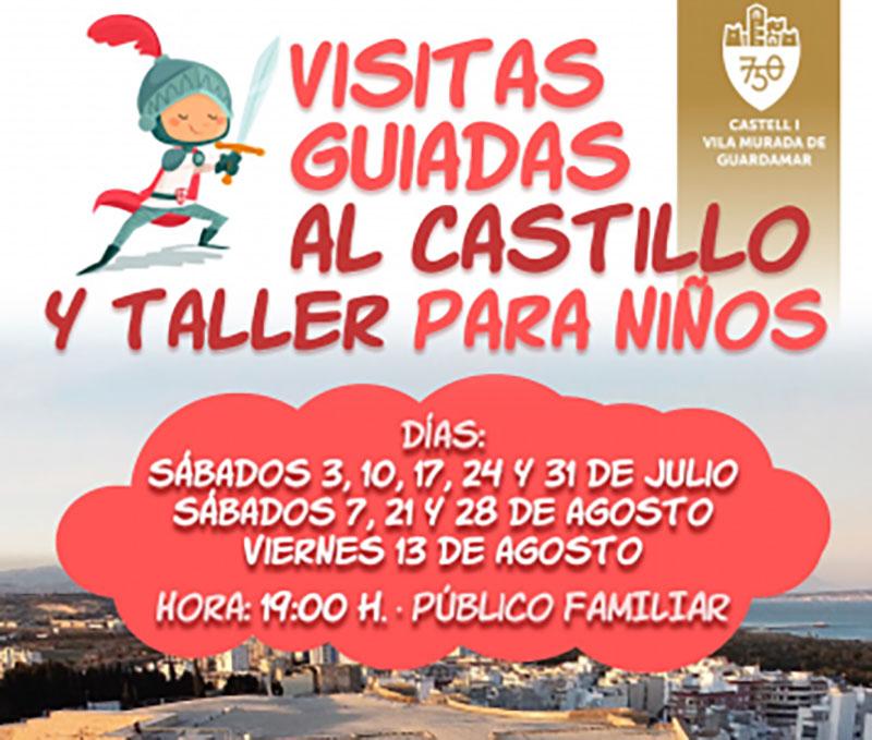Visitas guiadas al Castillo de Guardamar del Segura